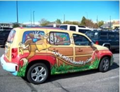 Get Creative With Vehicle Wrap Advertising Sign A Rama Colorado