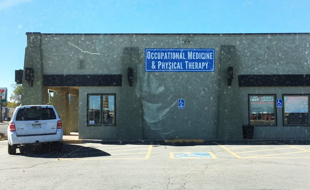 Exterior Building Sign for Peak Form Physical Therapy in Brighton, CO