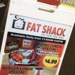 A Frames Signage and Rider For Fat Shack