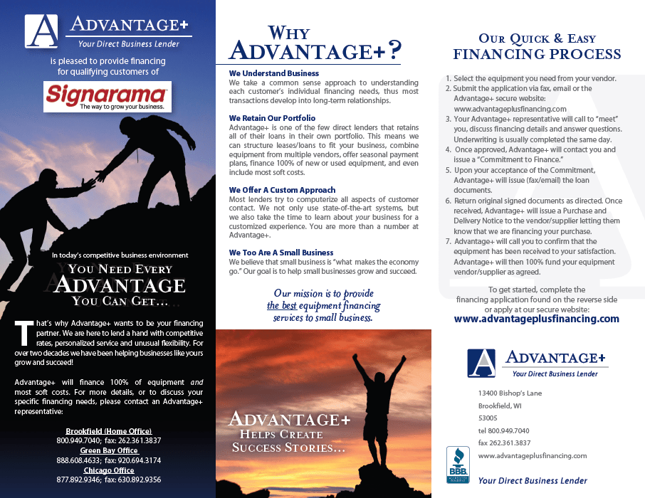 Advantage+ with Application