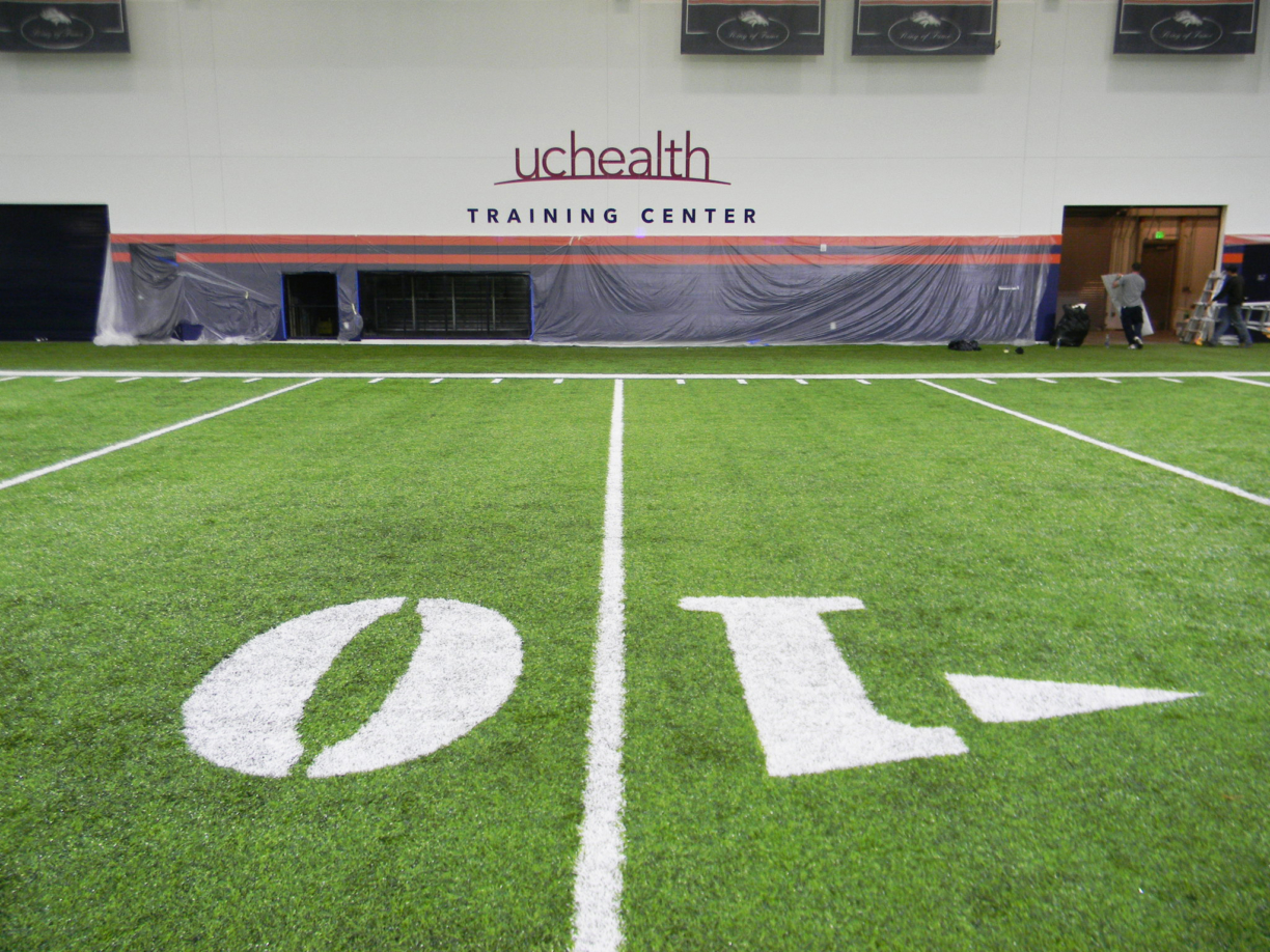 Interior and Exterior Wall Graphics for Uchealth at the Bronco
